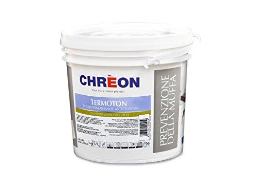 LECHLER (lackhersteller)–chreon–termoton 10lt. Weiß Schimmelschutz Wärme Innenvisier