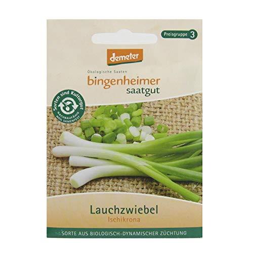 Bingenheimer Saatgut Lauchzwiebel Ischikrona demeter bio für 4-6 m²