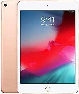 """Apple iPad Mini 7.9"""" (2019 - 5th Gen), Wi-Fi + Cellular, 256GB, Gold [Without Facetime]"""