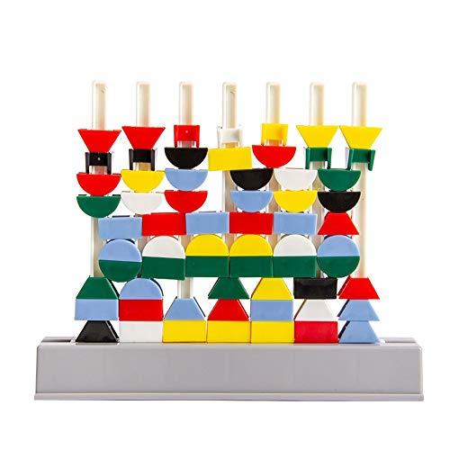 NEHARO Costruzioni Bambini Building Blocks 3-12 Anni 480 480 Creative Geometric Assemblato incantesimi di plastica inseriti Blocchi Giocattoli per Bambini per Le Ragazze dei Ragazzi