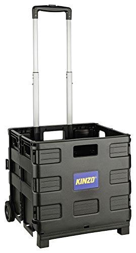 Kinzo 05703-Carrello per la spesa pieghevole