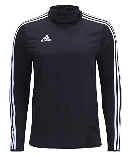 adidas Tiro 19 Warm Top - Men's Soccer M Black/White