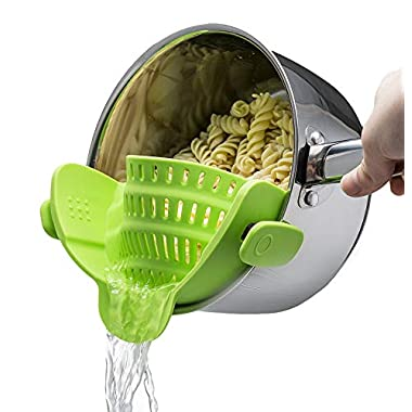Official Mac Belk Clip-on Silicone Strainer (Green)