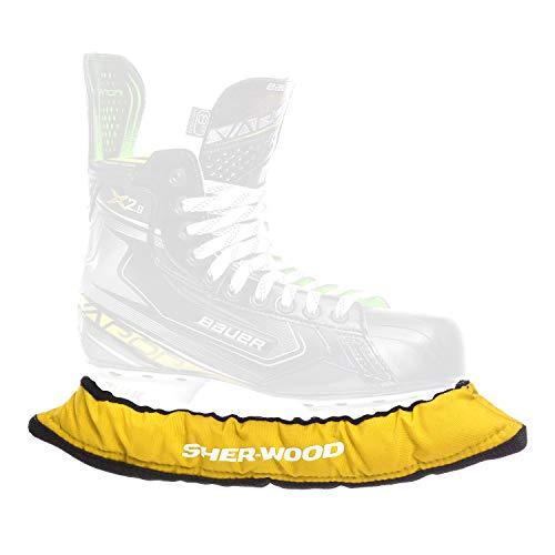 Sherwood Eishockey Sher-wood Pro Kufenstrumpf Senior, gelb, One Size