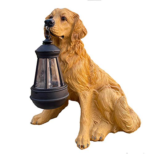 LHGXQ-Dp Creative Solar Lights, Lawn Lights for Domestic Puppy Garden Decoration, Outdoor Multi-Style And Interesting Night Lights Lighting Ornaments 3 Packs,B