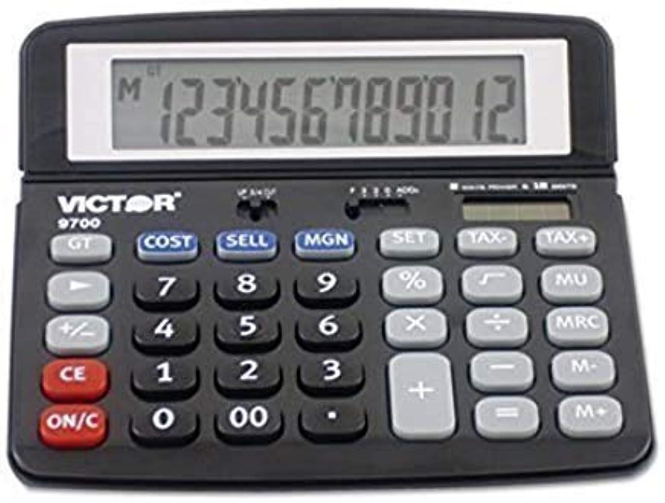 かかわらずネクタイ海峡Victor 9700 標準機能電卓
