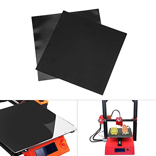 IJeilo 3D Printer 200 * 200 mm Bouwplaat Print Bed Tape Sheet Magnetic Heat Bed Square Sticker Set 3D-printers, als reserveonderdelen verbruiksartikelen