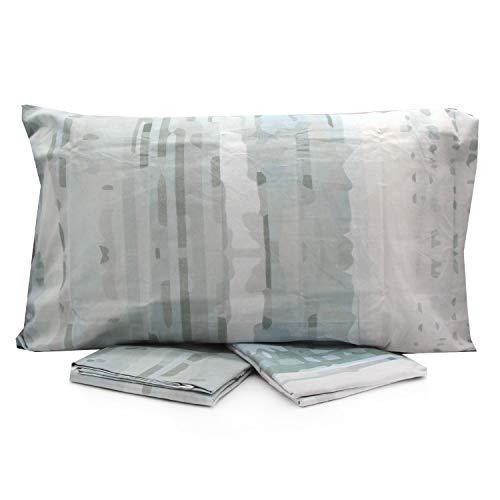 LOVETESSILE Juego de sábanas para cama individual multifantasía con sábana encimera, funda de almohada – Variante 105, individual