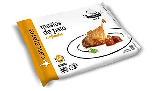 CASCAJARES - Muslos de pato cocinados al estilo Cascajares. Calentar en horno o microondas. Dos muslos por bolsa. Sin gluten