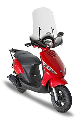 Pare-Brise spécifique Transparent 52 x 66,6 cm (H x L) Fixations exclues Kappa 6102A Kymco Like 50-125 -200i (09 > 13) Piaggio Zip 50 2T / 50 4T (13) Piaggio Zip 50-125 (00 > 12)