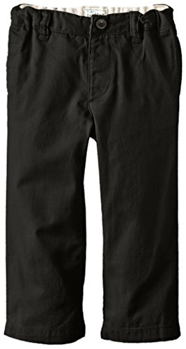 The Children's Place Little Boys and Toddler Chino Pant, Black, 3T