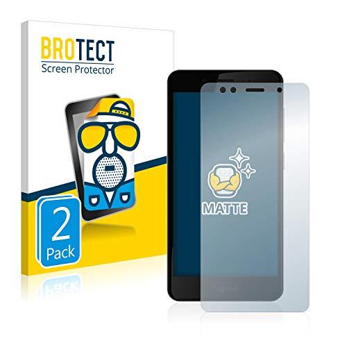 BROTECT 2X Entspiegelungs-Schutzfolie kompatibel mit Gigaset GS180 Bildschirmschutz-Folie Matt, Anti-Reflex, Anti-Fingerprint