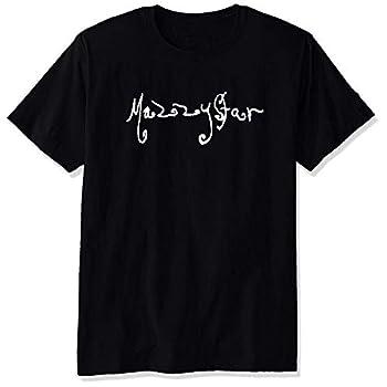 YULUYYY Men s Mazzy Star Logo Fashion Relaxed T-Shirt Tee Black X-Large