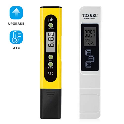 TDS Meter Digital Water Tester - pH Tester Digital Kit for Drinking Water,Aquariums,Pools,Spas,Hydroponics,Fast Delivery
