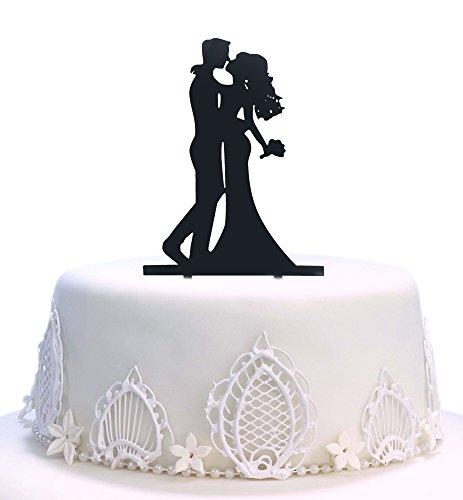 Decoración para tarta de novia y novio, acrílico duro para bricolaje, boda, novia, pastel, aperitivos, púas de decoración para fiestas, accesorios para boda y ducha