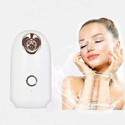 TYG-Nano Spray Facial Steamer, Facial Moisturizing Artifact, Hot Compress And Gentle Thermal Spray Ion Hot Steaming Face