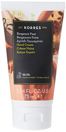 Korres Bergamot Pear Handcreme, 1er Pack (1 x 75 ml)