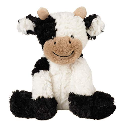 Hopearl Adorable Plush Cow Toy Floppy Dairy Cattle Soft Stuffed Animal Cute Birthday for Boys Girls Kids Toddlers  9