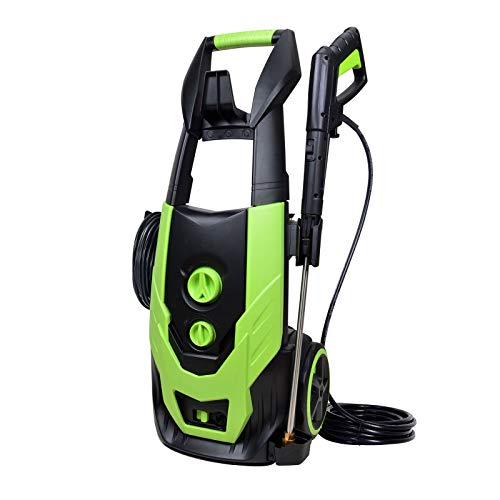 Workmoto Power Washer, Electric Pressure Washer with 5 Universal Spray Nozzles and Detergent Tank,Pressure Cleaner - 5000PSI 4.0GPM