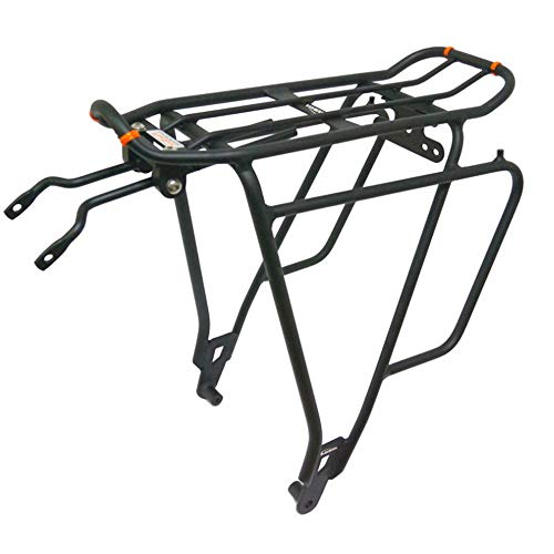 Fantastic Deal! DERTHWER Bicycle Pannier Rack, Bicycle Carrier Rack Bicycle Pannier Rear Rack High S...