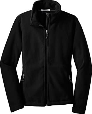 Port Authority Ladies Value Fleece Jacket, Black, X-Small