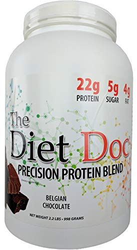 The Diet Doc Precision Protein Blend: 2.2lb (Belgian Chocolate)