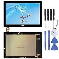 HDJ Lenovo Tab 4 Plus TB-X704 TB-X704L用のLin LCDスクリーンおよびデジタイザーフルアセンブリ(ブラック) (Color : Black)