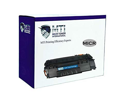 MICR Toner International Compatible Magnetic Ink Cartridge Replacement for HP Q7553A 53A LaserJet P2015 M2727