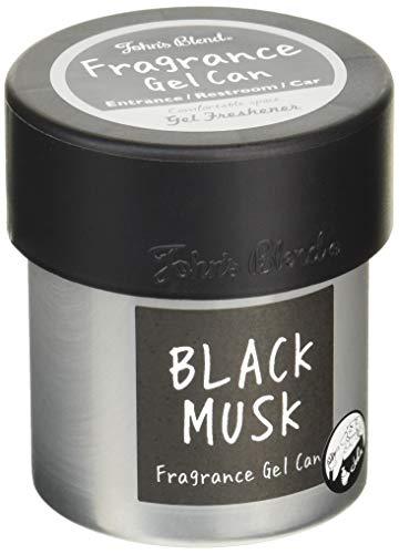 ノルコーポレーション John's Blend 車用芳香剤 フレグランスジェル 缶 OA-JON-38-10 ブラックムスク の香り
