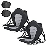 Best On Kayaks - Solomone Cavalli Deluxe Padded Kayak Seat with Storage Review