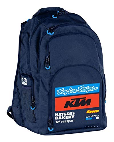 Troy Lee Designs Rucksack Team KTM Genesis Blau