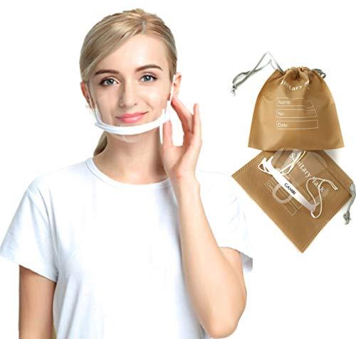 10 Unidades Viseras Protector Facial Transparente Máscarilla Boca Nariz Visera Plastico Antiniebla Cliu Mascara Escudo Transparente Protector Facial (10)