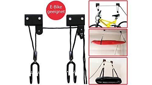 Fahrrad-Bike Lift XL-bis 57 kg-fr E-Bike-mechanisch schwarz Lift XL-bis 57 kg-fr E-Bike-mechanisch schwarz, 4020000000000
