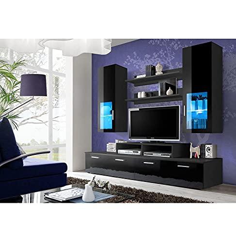ASM Ensemble TV - 3 éléments - Noir