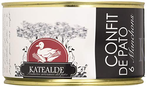 Katealde Confit De Pato, 6 Manchons (Alas) 1000 g