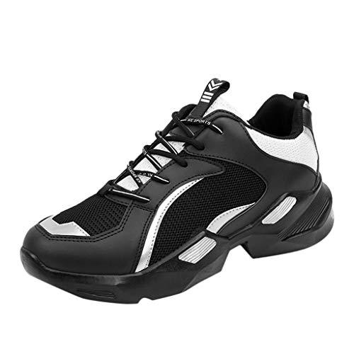 TWISFER Laufschuhe Herren Sneaker Turnschuhe Atmungsaktiv Mode Trend Sportschuhe für Outdoor Running Joggen Fitness Freizeit Schuhe 2019 Angebot Günstig