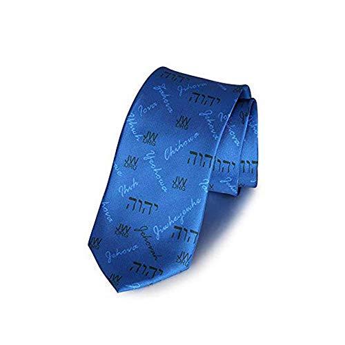 GuDeKe Jw.org Krawatte Blau Zubehör für Herren Taufgeschenk
