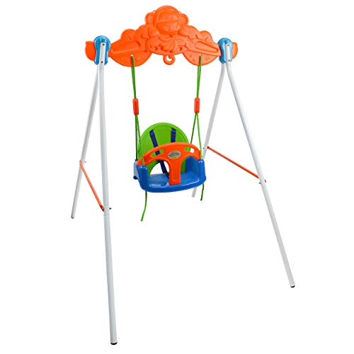 Baby Swingset with Stand Playset - Playground Toys for Kids - Indoor/Outdoor - Recommended Ages 3+ - Columpio para Niños, y Niñas