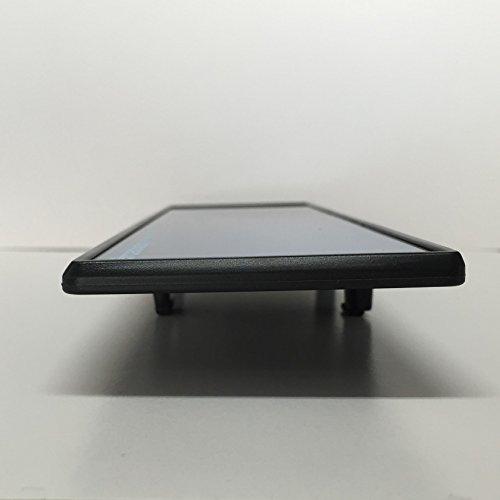 『ナポレックス 車用 ルームミラー Broadway ワイドミラー ブルー鏡 幅240㎜ 曲面鏡 高性能光学式防眩ミラー UVカット 汎用 BW-153』の4枚目の画像