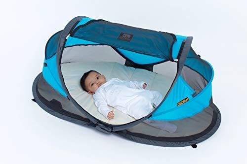 Reisebett/Zelt Deryan Travel-cot Baby Luxe, Farbe blau - 8