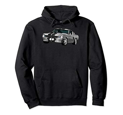 American Horsepower Muscle Car Hot Rod Pony Car Classic Pullover Hoodie