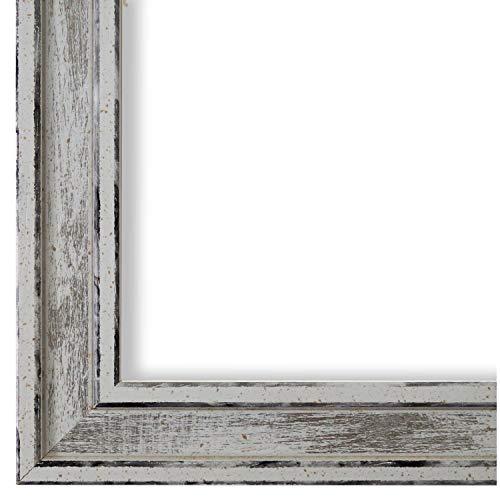 Online Galerie Bingold Bilderrahmen Weiß 40 x 50 cm 40x50 - Modern, Shabby, Vintage - Alle Größen - handgefertigt - WRF - Lugnano 2,8