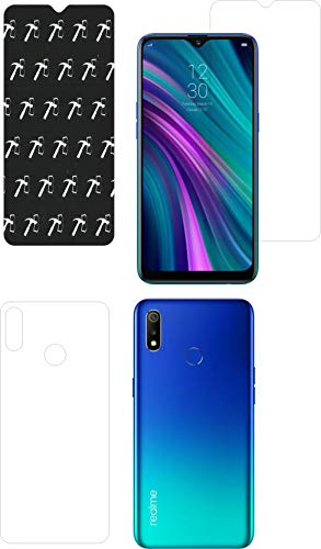 IndiForce Non-BREAKABLE 5D Gorilla Glass Screen Guard for Realme 3 - Hammer-Tested Screen Protector, Not a Odinary Tempered Glass for Front & Back