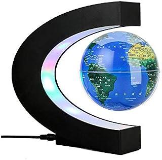 Luz Nocturna Led Levitación Magnética Globo Luz Nocturna Flotante Mapa Del Mundo Lámpara De Bola Lámparas Electrónicas Oficina Decoración Para El Hogar Lámpara De Globo Terrestre