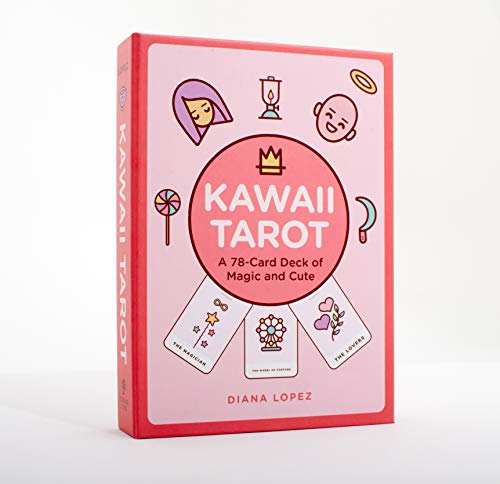 Kawaii Tarot: A 78-Card Deck of Magic and Cute (Modern Tarot Library)