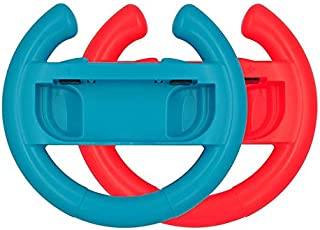 Steering Wheel Controller Handle for Nintendo Switch 1 Pair for Switch Joy-Cons for Mario Kart for Switch Accessory