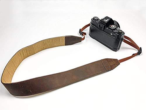 skaard Kameragurt | Echtes Leder | Vintage Look | Für Alle Kameras