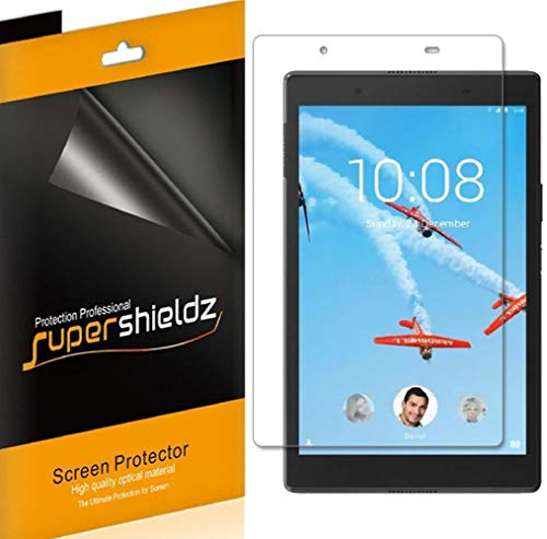 Supershieldz (3 Pack) for Lenovo Tab E8 and Lenovo Tab 8 (TB-8304F and TB-8304F1) Screen Protector, High Definition Clear Shield (PET)
