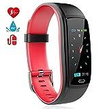 MINLUK Montre Connectée Podomètre Smartwatch Bracelet Connecté Fitness Tracker...