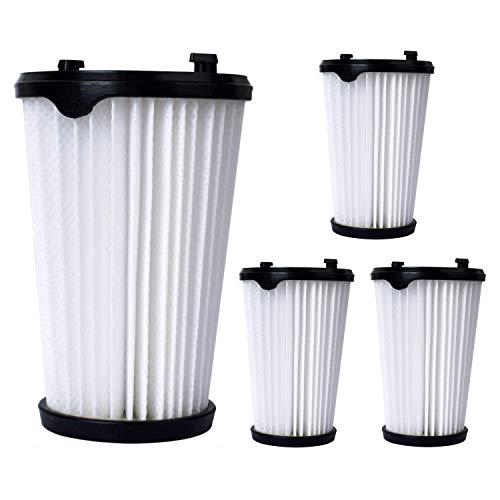 Poweka CX7 Filter für AEG Ergorapido Staubsauger alle CX7-2 Modelle, 4 Stück AEF150 Hepa-Filter Ersatzfilter Austauschfilter Innenfilter